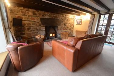 cottage 1 living room a